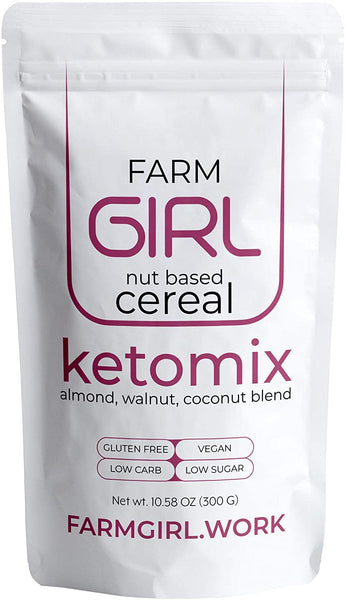 Farm Girl Ketomix with Almonds, Walnuts and Coconut Mix