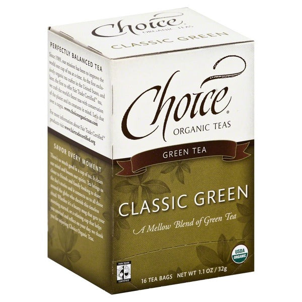 Choice -Organic Green Tea