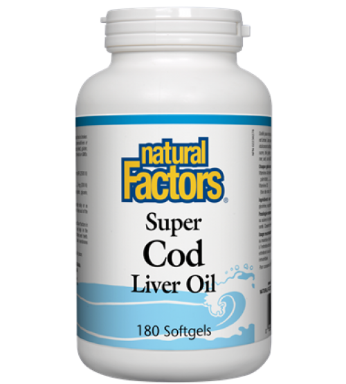 Natural Factors Super Cod Liver Oil