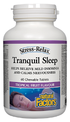 Natural Factors Tranquil Sleep