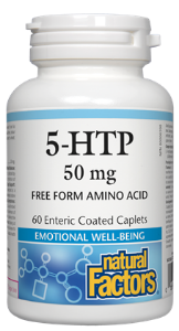 Natural Factors 5-HTP 50mg
