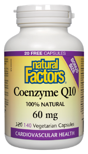 Natural Factors CoQ 10 60mg