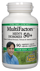 Natural Factors MultiFactors Men's 50+
