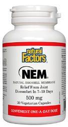 Natural Factors Natural Eggshell Membrane (NEM)