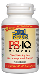 Natural Factors PS-IQ Memory