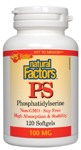 Natural Factors PS Phosphatidylserine 100mg