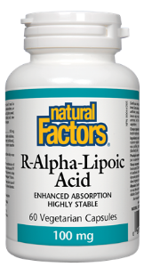 Natural Factors R-Alpha-Lipoic-Acid 100mg
