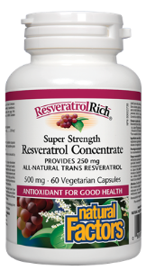 Natural Factors Resveratrol Concentrate