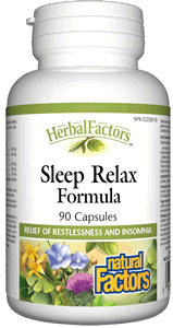 Natural Factors Sleep Relax Formula