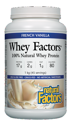 Natural Factors Whey Factors Protein Powder