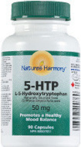 Nature's Harmony 5-HTP 50 mg