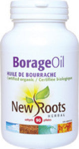 New Roots Organic Borage Oil