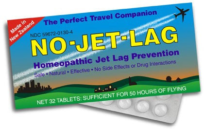 No Jet Lag Homeopathic Remedy