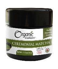 Organic Traditions Ceremonial Matcha Tea 33g