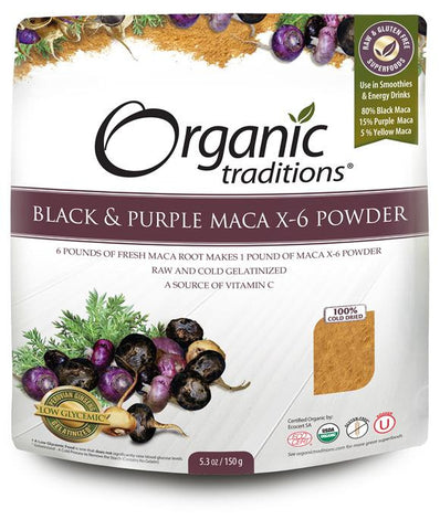 Organic Traditions Maca x-6 Powder