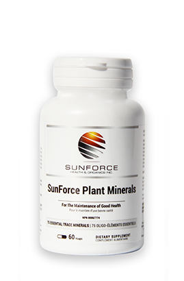 Sunforce Health and Organics Inc. Plant Minerals