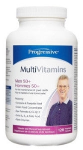 Progressive Men's 50+ Multivitamin