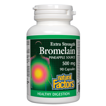 Natural Factors Bromelain