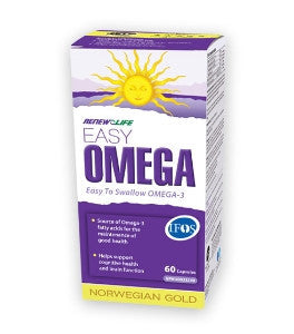 Renew Life Norwegian Gold Easy Omega Fish Oil