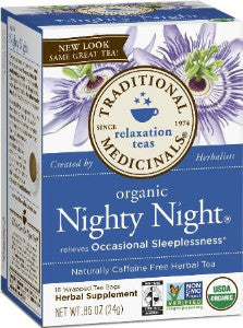 Traditional Medicinals Nighty Night Tea
