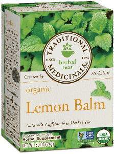 Traditional Medicinals Lemon Balm Tea