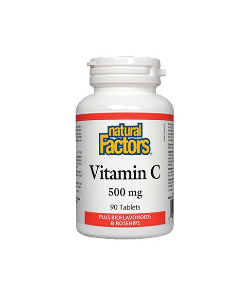 Natural Factors - Vitamin C (500mg) plus Bioflavonoids