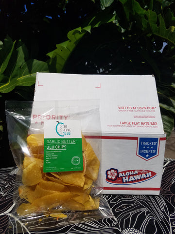 Garlic Butter 'Ulu (Breadfruit) Chips