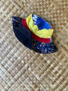 "Little Kids Size 2-4 ""Floral Imua"" Beach Bucket Hat"