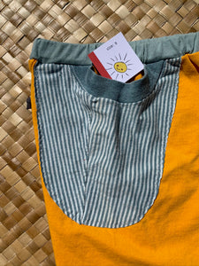 "Kids Size 8 ""Yellow Rotary"" Beach Comber Shorts"