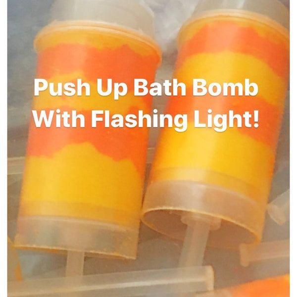 BATH BOMB PUSH UP WITH FLASHING LIGHT - petandpeopleboutique