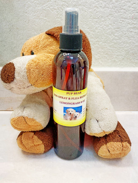 Lemongrass 8 Oz Flea & Tick Spray - petandpeopleboutique