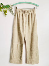 Load image into Gallery viewer, Vintage Oatmeal Color Wide Leg High Waisted Pants