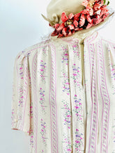 Load image into Gallery viewer, Vintage 1970s pink floral dress
