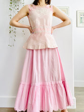 Load image into Gallery viewer, Antique 1910s Edwardian pink top with soutache