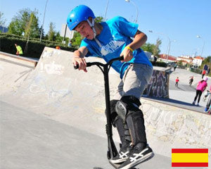 Lucky team International Pro Rider Jonatan Moreno