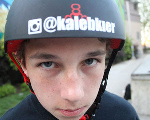 Lucky team Title Rider Kaleb Kier