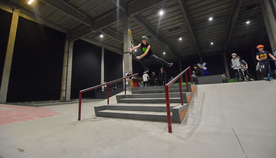 Lucky team Title Rider Thomas Lee Pic 2