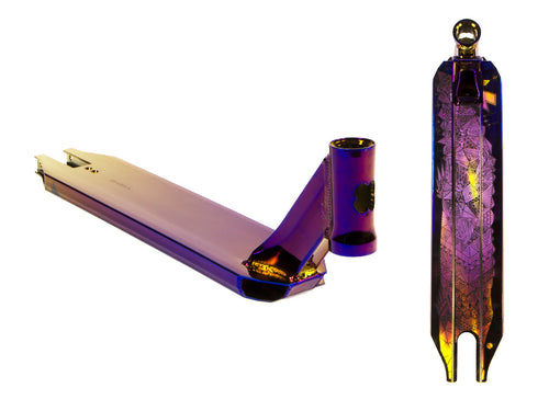 Pro Scooter Deck - NeoPurple - COVENANT™ by Lucky Scooters