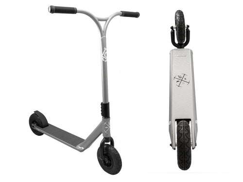 Lucky LS Gunmetal Dirt Scooter