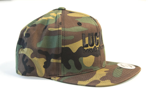 Lucky Solid Logo Snapback Hat Camo – Lucky Scooters a1e05bb938bc