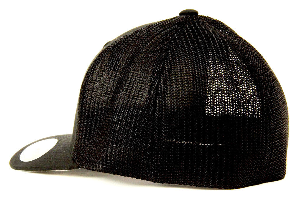 Lucky Solid Logo Trucker Mesh Hat