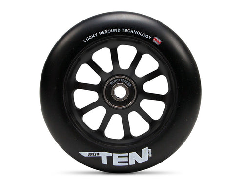 Pro Scooter Wheel - Black/Black - TEN™ by Lucky Scooters