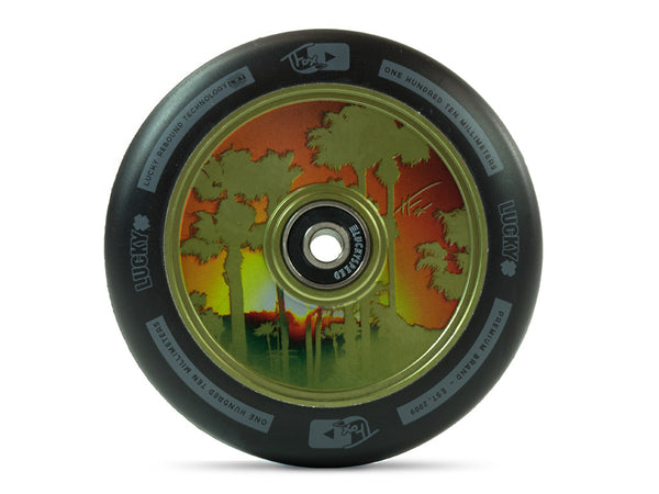 TFOX Signature Scooter Wheel 100mm (Green)