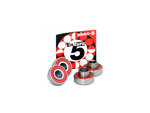 Enduro Bearings ABEC 5 with spacers.
