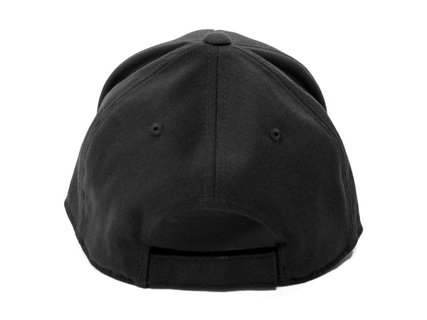 Lucky Flexfit 110 curved bill Hat Black Logo