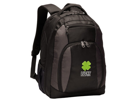Lucky Pro Scooters Logo Travel Backpack