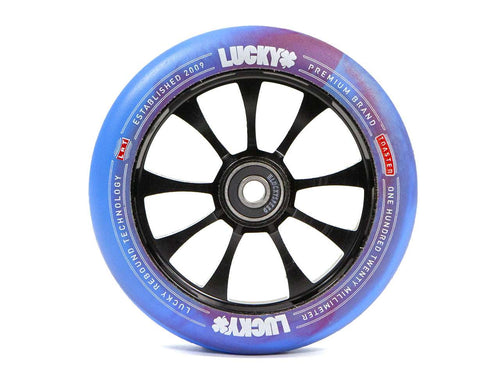 Pro Scooter Wheel - Red/Blue - TOASTER™ 120mm by Lucky Scooters