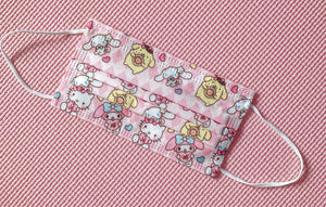 Hello Kitty Facial Mask Face Surgical Covering My Melody Pompompurin Pom Pom Purin Cinnamoroll