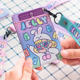 Bentoy Women PU Card Holder leather Mini Bus Credit Bank Card Holder Korean Cute ID Card Case milkjoy Bus Card Set Drop Shipping