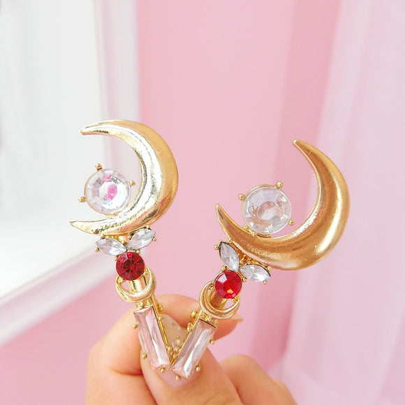 1Pc Lovely Japan Sailor Moon Clips Cosplay Hairpin Girls Gifts